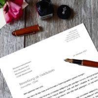 Blogbeitrag Bewerbungsschreiben