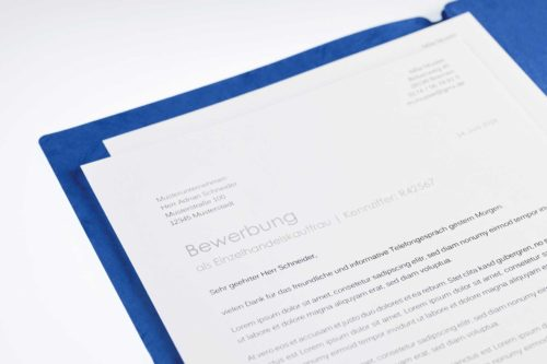 Bewerbungsschreiben Produktbild
